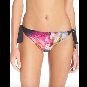 NWT! Ted Baker London Bouquet Side Bikini Bottoms